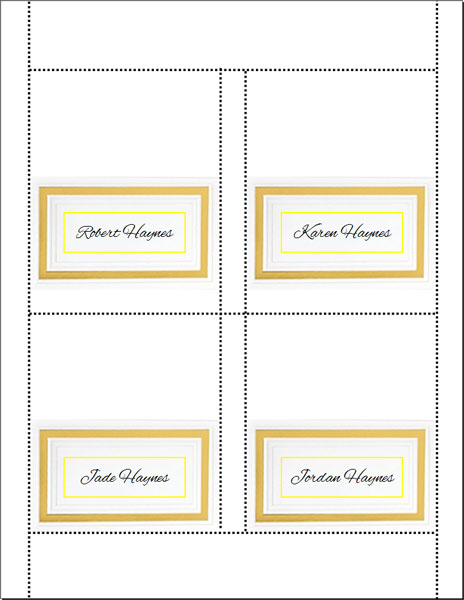 Do it yourself wedding placecards do it yourself wedding placecard solutioingenieria Images