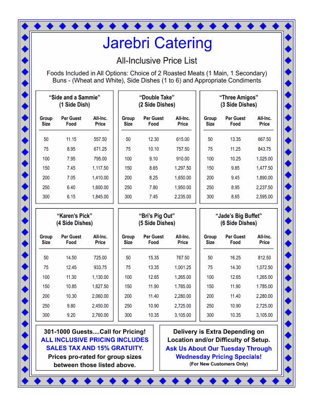 Doc410493 Price List Templates 8 Price List Templates to Make – Word Price List Template