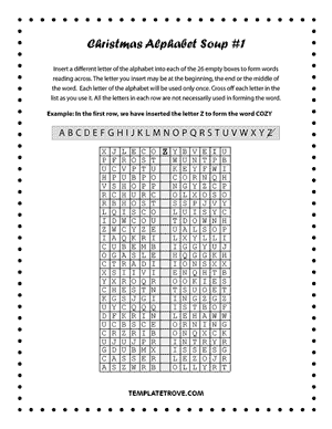 Printable Puzzles and Games