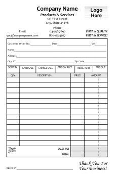 Free Business Forms Templates Invoices Receipts And More