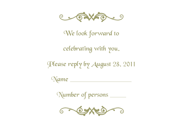 Free Wedding Templates Programs Response Cards And More - Wedding anniversary program templates