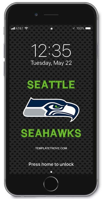 Seattle Seahawks Lock Screen 1