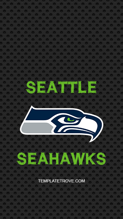 Seattle-Seahawks-Logo-Lock-Screen-iPhone-6-7-8-Plus Team Newsletter Template Word on family reunion, free emergency, compatible class, how make, free blank,